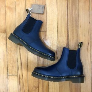 NWT Doc Martens 2976 Yellow Stitch Chelsea Boot